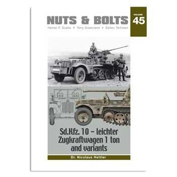45, Sd.Kfz. 10 - leichter Zugkraftwagen 1 ton and variants